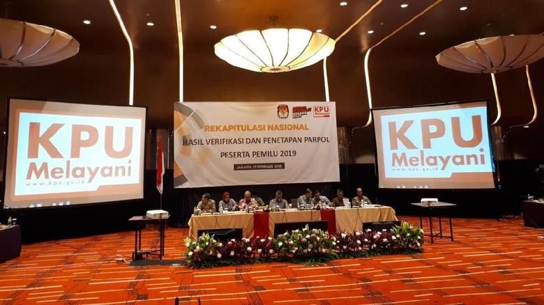 Partai Garuda dan Perindo Lolos Verifikasi Peserta Pemilu 2019
