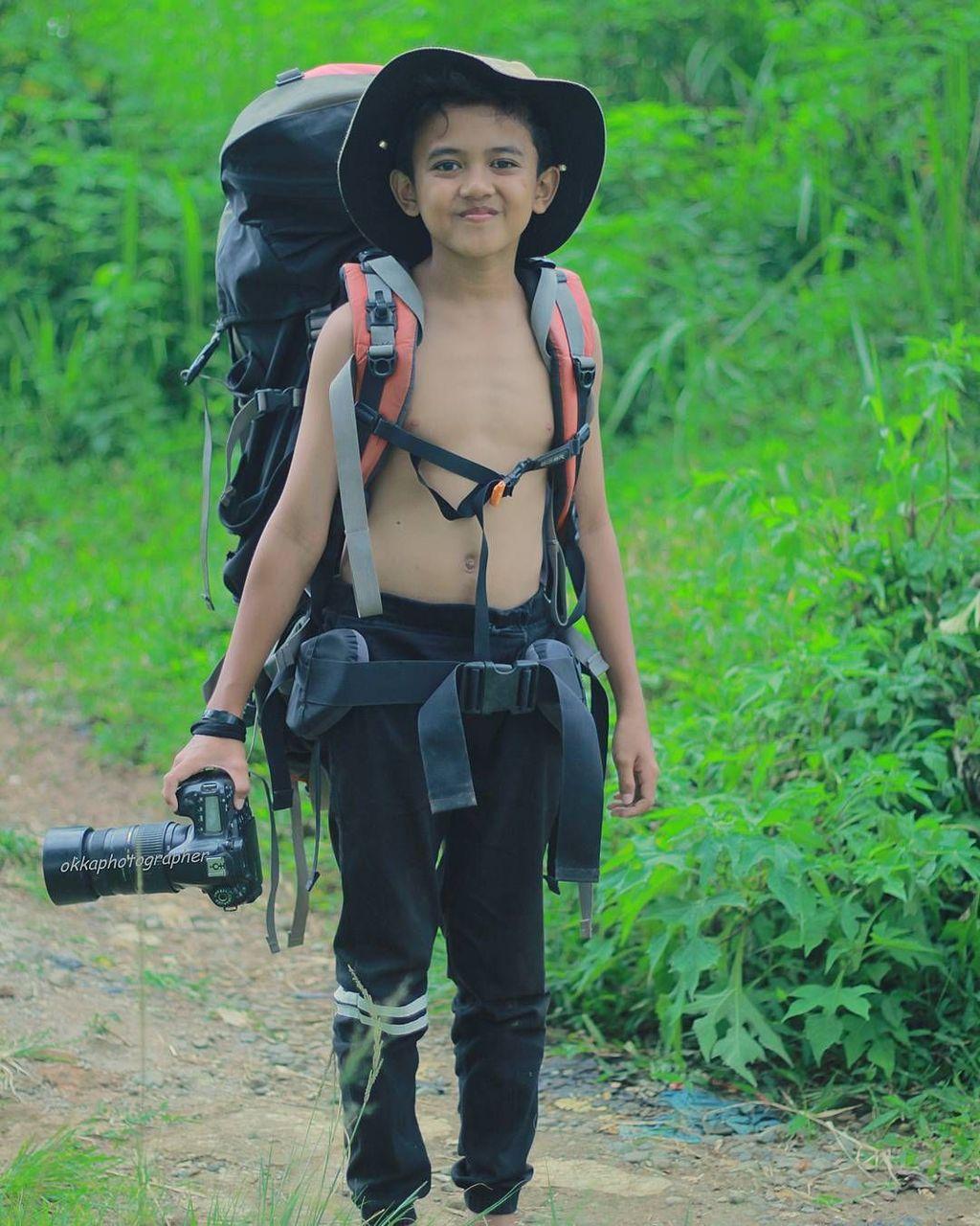 Kepada detikINET, Okka mengatakan dirinya kerap berkumpul dengan anak-anak di daerah Majalengka untuk mengajarkan fotografi. Foto: Okka Supardan