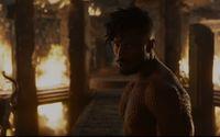 Erik Killmonger yang kulitnya terlihat bersisik