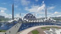 Pemprov Jawa Barat memulai proses pembangunan Masjid Al-Jabbar. Masjid terapung ini akan dibangun Wika Gedung.