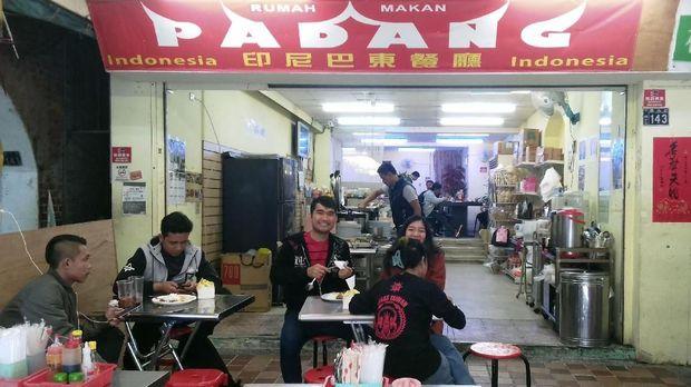 Nasi Padang, Pelipur Lara Imlek di Taiwan