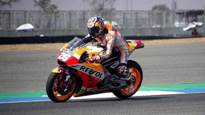 Dani Pedrosa jadi pebalap tercepat di hari ketiga tes MotoGP Thailand (Foto: Mirco Lazzari gp/Getty Images)
