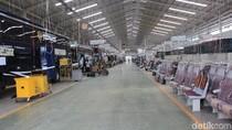 Bus yang Bakal Diekspor ke Bangladesh Mulai Diproduksi