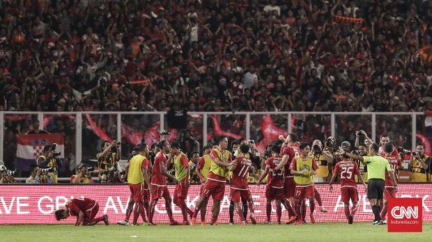 Kekuatan Persija baru akan diuji di kompetisi Liga 1 2018.