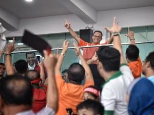 Persija Boyong Piala Presiden, Anies Janji Siapkan Stadion