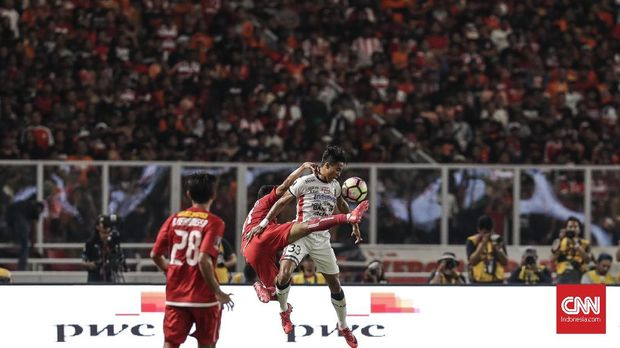 Persija Jakarta akan hadapi Bali United.