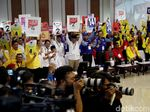 Survei JSI: PDIP-Gerindra Teratas, 9 Parpol Terancam Tak ke DPR