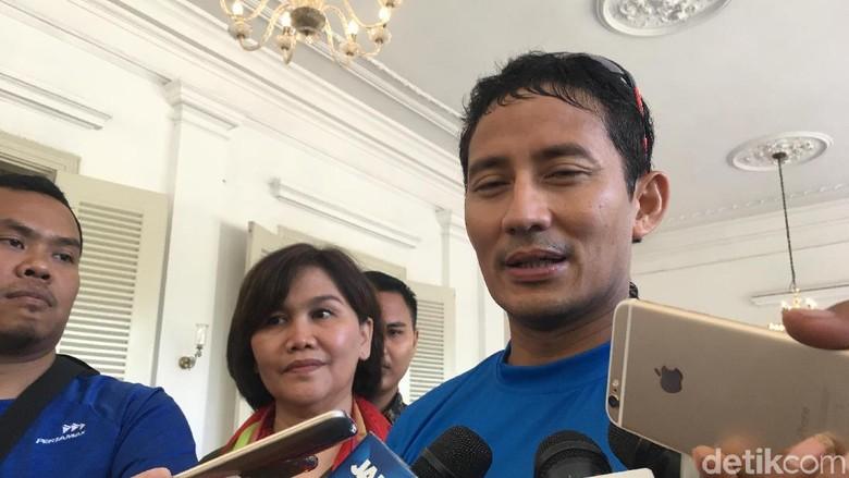 Sandi Teriaki Oknum yang Rusak GBK Kampungan di Final Piala Presiden