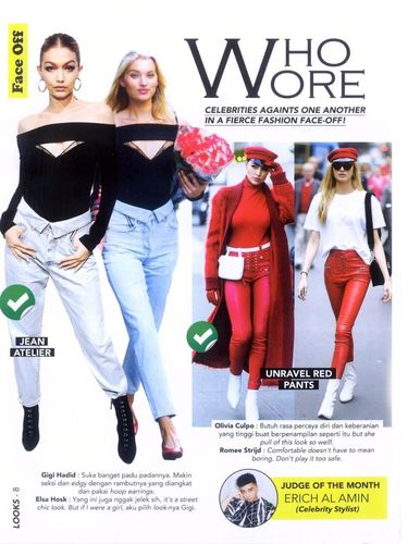 Nyinyirin Top Model Dunia, Fashion Stylist Indonesia Ini Dibully Netizen