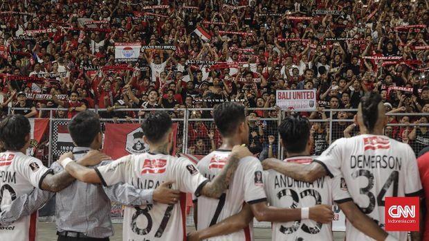 hasil imbang di Vietnam membuat posisi Bali United terancam digusur.