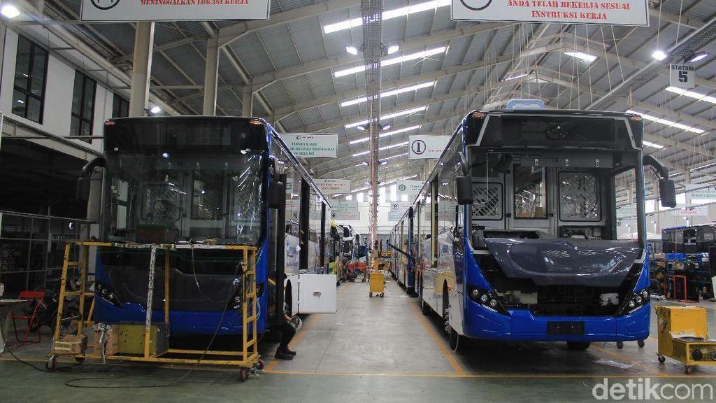 Selain Bus, Karoseri di RI Juga Bikin Gerbong hingga Mobil Penumpang