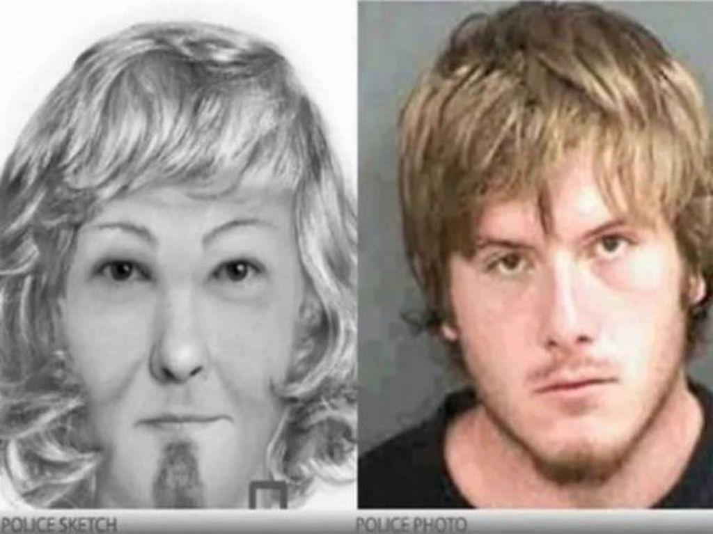 Jadi buronan ini pria atau wanita? Foto: via Brightside