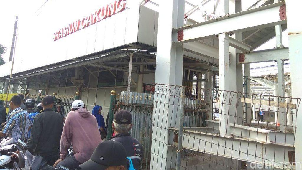 Proyek Pembangunan Stasiun Cakung Sudah 87% Rampung