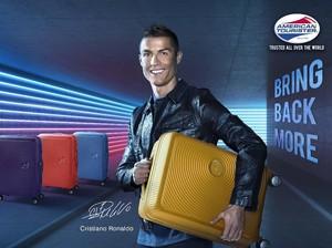 Ronaldo Jadi Brand Ambassador Tas American Tourister