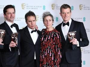 Frances McDormand-Gary Oldman, Aktor dan Aktris Terbaik BAFTA 2018