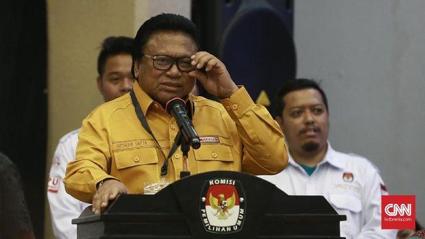 Ketua Umum Partai Hanura Oesman Sapta Odang.