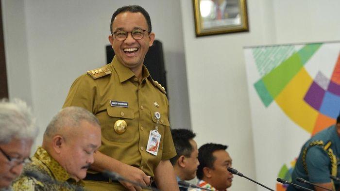 Gubernur DKI Jakarta Anies Baswedan (Wahyu Putro A/Antara Foto)