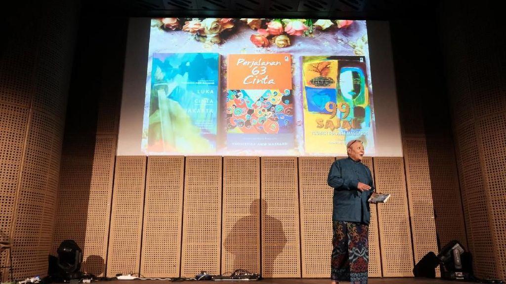 Setelah 45 Tahun, Buku Yudhistira ANM Massardi Sajak Sikat Gigi Lahir Kembali