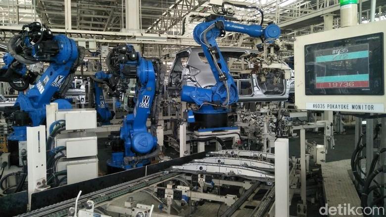 Pabrik Suzuki di Cikarang yang Lebih Canggih dari Jepang Foto: Ruly Kurniawan