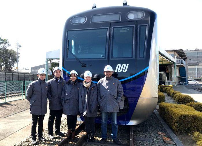 Kereta pertama MRT Jakarta sendiri diperkirakan bakal tiba di Jakarta pada tanggal 26 Maret 2018. Pool/MRT Jakarta.