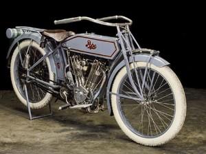 Ini Motor Berusia 100 Tahun Milik King of Cool McQueen