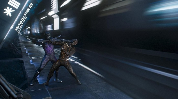 Black Panther bertarung di Wakanda. Foto: Istimewa