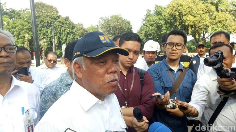 Taman GBK Dirusak, Menteri PUPR: Masak Kalah Sama Orang Surabaya