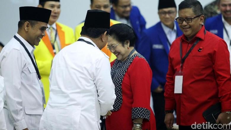 Gerindra: Mega-Prabowo Bersahabat, Wong Pernah Jadi Capres-Cawapres