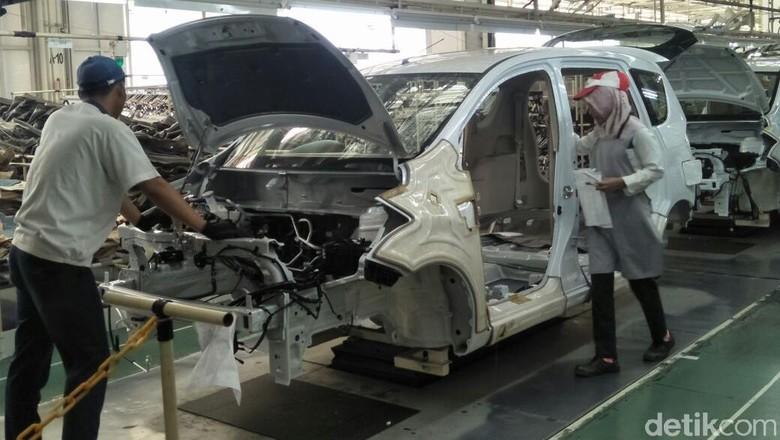 Pabrik mobil Suzuki di Cikarang (Foto: Ruly Kurniawan)