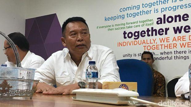 TB Hasanuddin berkunjung ke Kantor Detikcom Biro Jabar