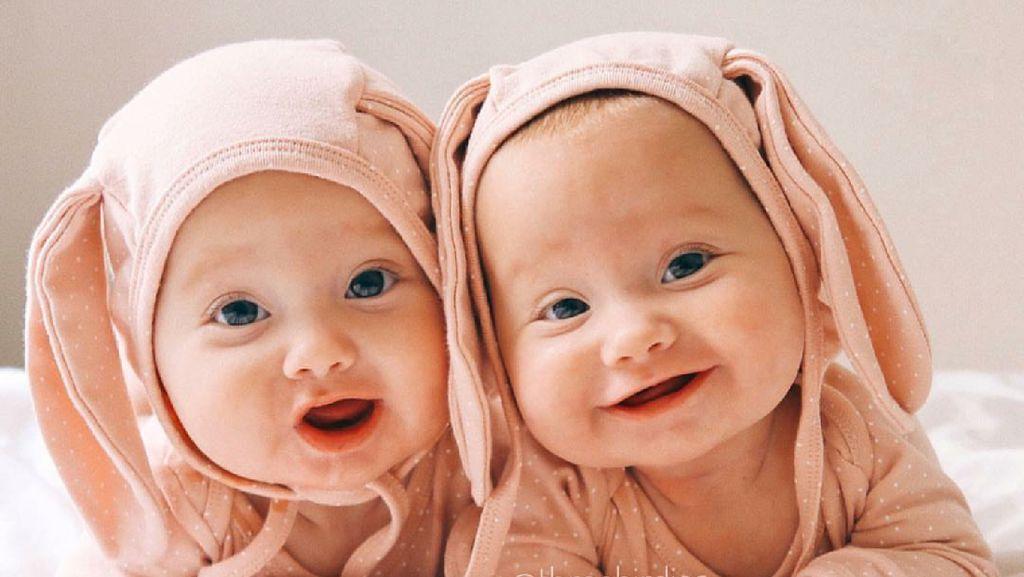 Lihat Foto Bayi Kembar Ini Bisa Bikin Senin Kita Makin Ceria