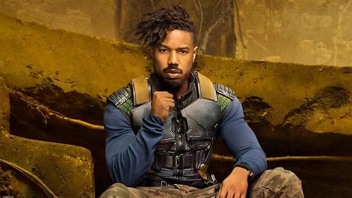 Michael B Jordan, pemeran Erik Killmonger di Black Panther. Foto: Istimewa