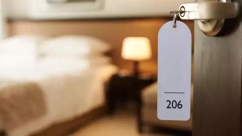 ilustrasi kamar hotel