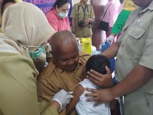 Takut Diimunisasi Difteri, Siswa SLB di Trenggalek Lari ke Kamar Mandi