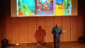 Yudhistira ANM Launching Buku Berkonsep Musikalisasi Puisi