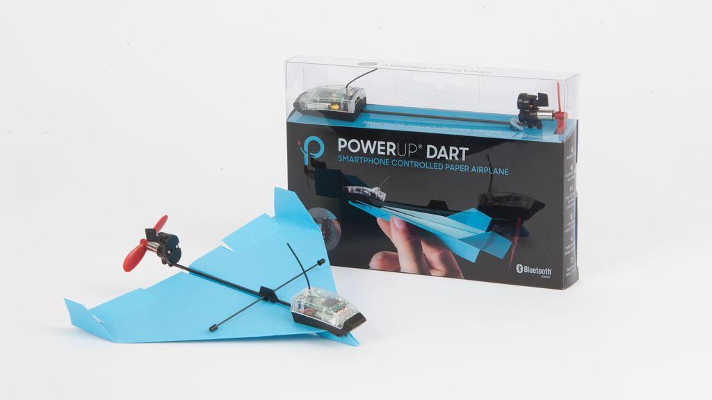 Pesawat kertas canggih ini dibuat PowerUp. Foto: poweruptoys