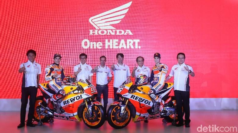 Di Kemayoran, Repsol Honda Launching Motor Balap Musim 2018