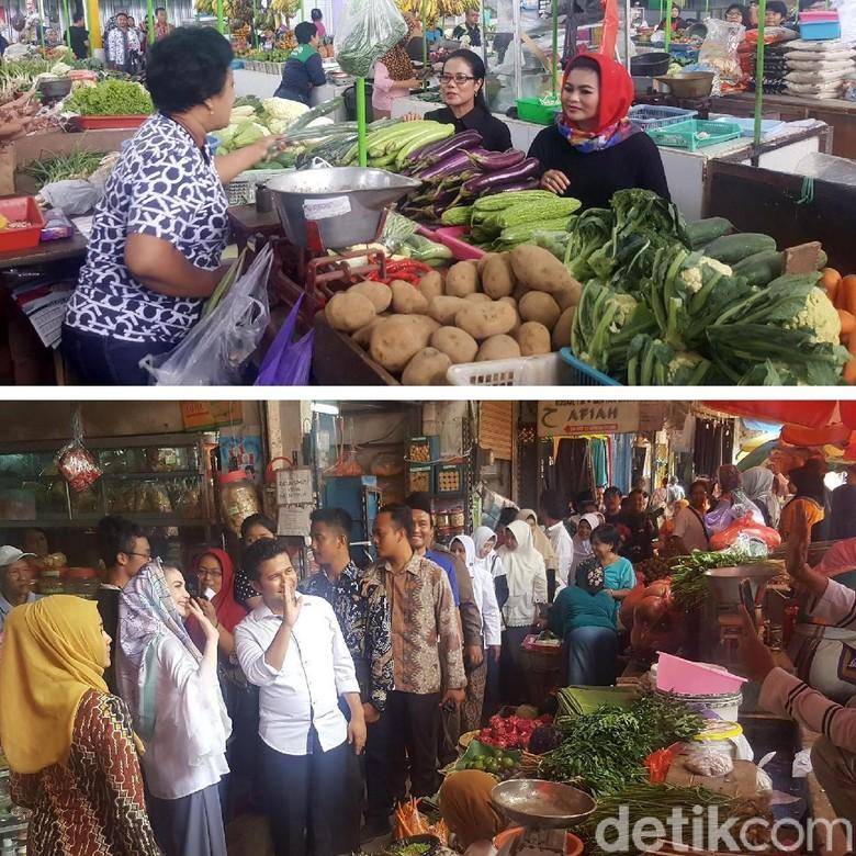 Tebar Pesona di Pasar, Pengamat: Cara 2 Cawagub Dokrak Popularitas