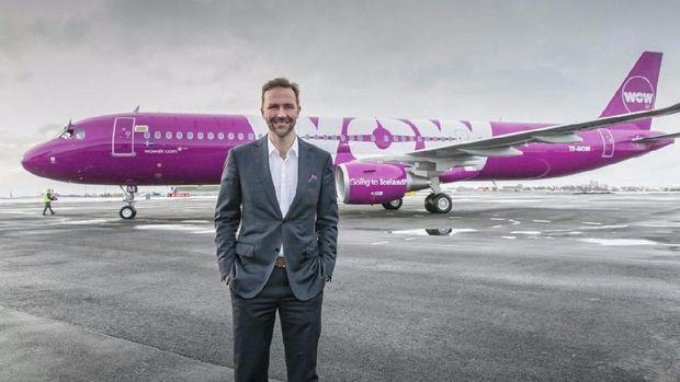 CEO WOW Air, Skuli Morgensen (WOW Air)