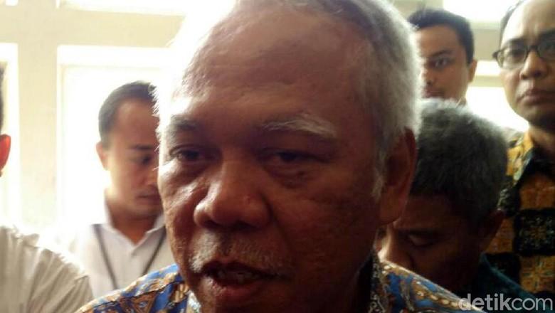 Menteri Basuki: Pekerjaan Berat Infrastruktur Setop Sementara
