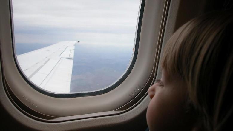 Cerita Pramugari Tenangkan Balita yang Rewel di Pesawat/ Foto: Thinkstock