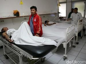 1 Korban Ambruknya Kepala Tiang Becakayu di RS UKI Jalani Operasi
