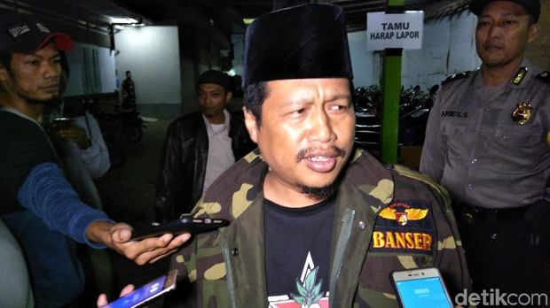 Ketua GP Ansor Kabupaten Kediri Munasir Huda