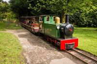 Ada kereta-keretaan di Haigh Hall and Country Park (Visit North West)