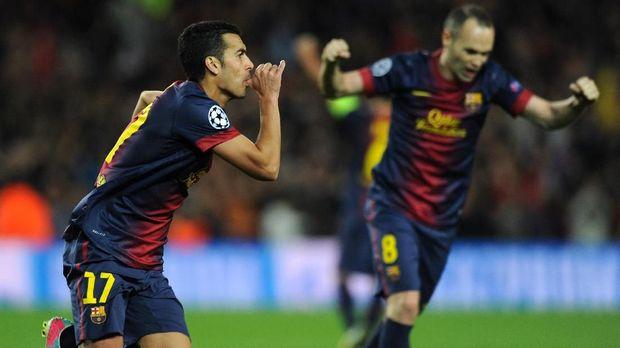 Pedro Rodriguez sempat diproyeksi jadi andalan Barcelona di masa depan sebelum akhirnya kesulitan mendapatkan tempat reguler.