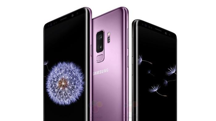 Bocoran wujud Galaxy S9. Foto: Internet