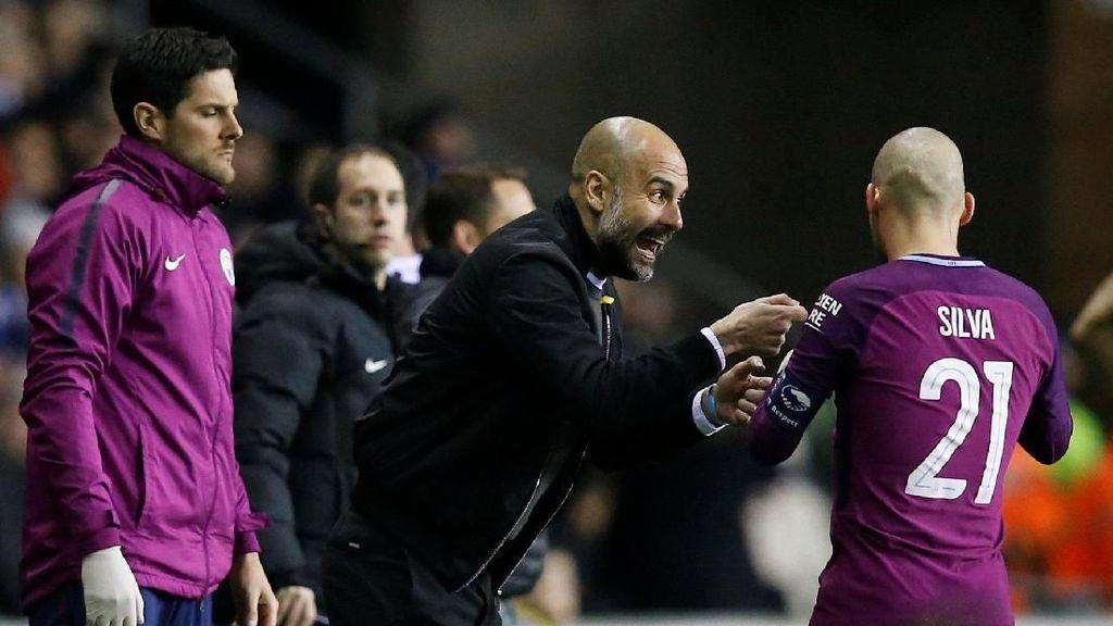 Kegeniusan Pep Guardiola di Mata David Silva