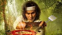 Lainnya ada yang menganalogikan Vino sebagai Wiro dalam poster tersebut menjadi seorang chef. Foto: Dok. Instagram/vinogbastian__
