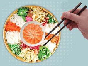 Yee Sang, Makanan Perlambang Harapan Baik di Tahun Baru