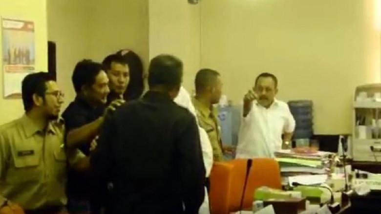 Ketua DPRD dan Kasatpol PP Nyaris Berantem Soal Penertiban Lahan